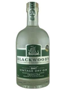 Blackwood's Vintage Dry Gin 2007 | met Fentimans - bij The Glorious