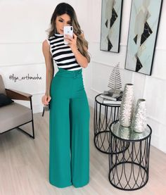 Work Fashion, Curvy Fashion, Fashion Pants, Fashion Outfits, Classy Outfits, Casual Outfits, Look Office, Indian Fashion Trends, Designer Jumpsuits