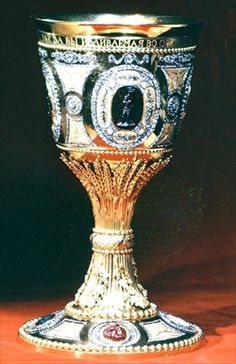 Chalice, c.1791 (gold with diamonds)   Russian  School,18th century