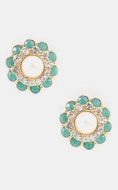 Anya Earrings In Mint