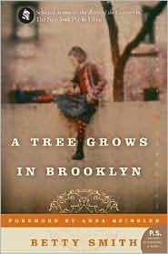 A Tree Grows in Brooklyn.  Literally this was my all time absolute favorite book growing up.  You want to see in my psyche?  This is a good start.