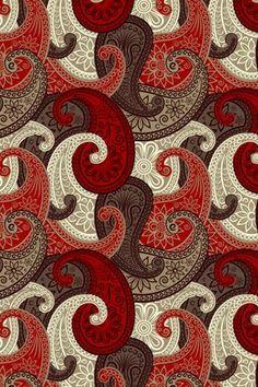 Paisley Art, Paisley Fabric, Paisley Design, Paisley Pattern, Abstract Pattern, Indian Patterns, Surface Pattern Design, Fractal Art, Fabric Painting