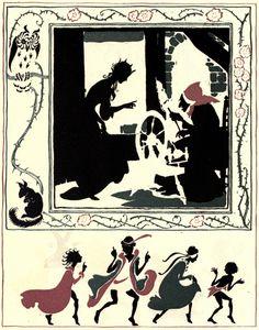 -Sleeping Beauty Arthur Rackham- (1867-1939)