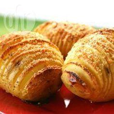Batata hasselback (batata laminada) @ allrecipes.com.br