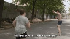 HOW YOU FEEL THE FIRST 5 MINUTES OF YOUR RUN