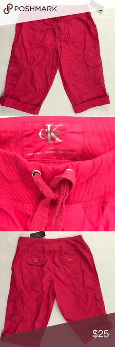 Calvin Klein Women's Cargo Shorts Size L Brand new with tags  Women's size L  Comes from smoke / pet free home Calvin Klein Shorts Cargos