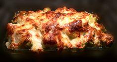 Gemüse-Auflauf mit Mozzarella überbacken - lowcarb und vegetarisch Abendessen selbst machen mit einer leckeren Soße aus griechischem Joghurt und Mandelmilch