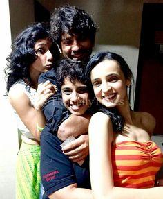 Lover boy with the ladies BarunSobti Sanaya SanayaIrani Sarun pashmeenmanchanda barmeen IPKKND isspyaarkokyanaamdoon FriendsForLife Throwback