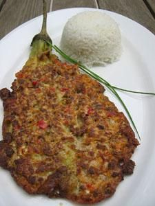 'Tortang Talong' is a simple but tasty, budget friendly Filipino dish. It is made of grilled eggplant and then dipped in eggs mixture and deep fried. It is always accompanied by white…