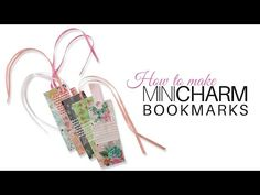 Watch this new tutorial from Jennifer Bosworth of Shabby Fabrics to learn how to make bookmarks using Mini Charms from Moda Fabrics. Quilting Tutorials, Quilting Projects, Sewing Tutorials, Video Tutorials, Sewing Ideas, Small Sewing Projects, Sewing For Kids, Sewing Crafts, Shabby Fabrics