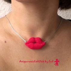 Ravelry: Amigurumi lips pattern by Lucia Lanukas