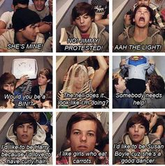 This is the reason I became a dedicated directioners! The video diaries are the best thing in the world :) @Louis Tomlinson you are so funny :)