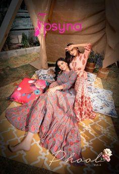 "Price Per Piece :- ₹950 Minimum Order :- 9 Pcs Full Set Price :- *₹5,700 + ₹285 (GST 5%)* *Fabric Description* Top :- Cotton Cambric With Print (length : 52"") Size :- M(38), L(40), XL(42), XXL(44) Fancy Kurti, Fancy Sarees, Western Gown, Anarkali Kurti, Fancy Gowns, Lehenga Style, Printed Gowns, Designer Gowns, Designer Kurtis"