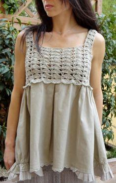 Fabulous Crochet a Little Black Crochet Dress Ideas. Georgeous Crochet a Little Black Crochet Dress Ideas. Cardigan Au Crochet, Crochet Yoke, Black Crochet Dress, Crochet Fabric, Crochet Collar, Crochet Jacket, Crochet Art, Crochet Woman, Crochet Blouse