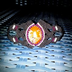 Picturejasper macrame bracelet