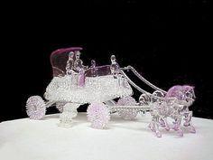 Blown Glass Carousel Figurines | Glass-Brilliant-Carnival-Depression-Fenton-Mary Gregory-Spun-Steuben