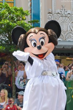 Princess Leia Minnie (by crabangel)