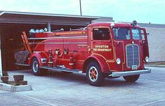 Houston, TX FD 1940 Mack EB. They Only Made two....