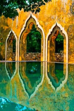 Reflections of Merida, Mexico