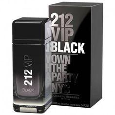 Nuevo #perfume para hombre Carolina Herrera 212 VIP Black de #CarolinaHerrera  https://perfumesana.com/212-vip-black/2798-carolina-herrera-212-vip-black-edp-100-ml-spray-8411061869376.html
