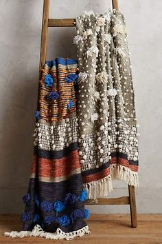 Collaged Majida Throw - anthropologie.com