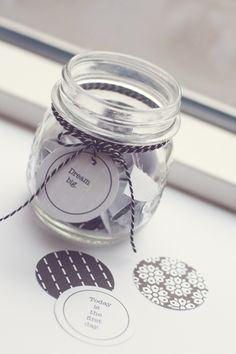 Winter Wishes Jar