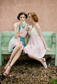 Coffee with a friend, perfect start to a morning :) Sters,... we need a tea party!