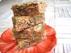 reese's pieces cookie bars. Yum....these look amazing but cannot be good for you!