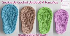 How To Crochet Cute And Easy Baby Booties/ Baby Sneakers Booties Crochet, Crochet Sole, Crochet Baby Sandals, Crochet Baby Boots, Crochet Diy, Crochet Slippers, Baby Booties, Crochet Hats, Crochet Fabric