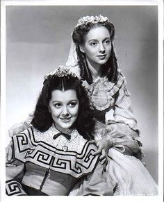ANN RUTHERFORD AND EVELYN KEYES