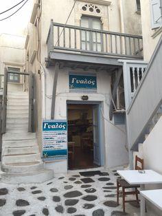 Local café Chora mykonos