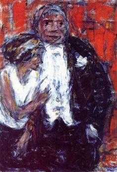 Christian Rohlfs, A Couple, 1929