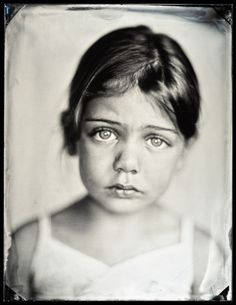 Tin Type Portrait by Michael Schindler
