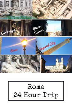Follow this itinerary to make the most of your time in Rome.