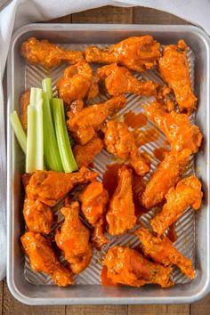The BEST Buffalo Wings you'll and they're oven baked! Tossed with a delicious bu… The BEST Buffalo Wings you'll and they're oven baked! Tossed with a delicious buffalo wing sauce these will be the hit of your parties! Oven Chicken Recipes, Cooking Recipes, Oven Recipes, Chicken Wing Sauces, Thai Chicken, Thai Recipes, Baked Buffalo Wings, Buffalo Hot Wings Recipe, Baked Chicken Wings Buffalo