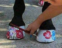 Painted feet! I love it
