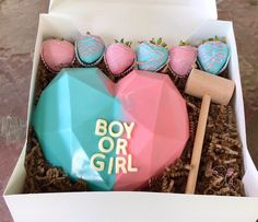 Chocolate Covered Treats, Chocolate Bomb, Chocolate Hearts, Chocolate Molds, Rice Krispie Treats, Rice Krispies, Pinata Cake, Gender Reveal Party Decorations, Chocolate Covered Strawberries