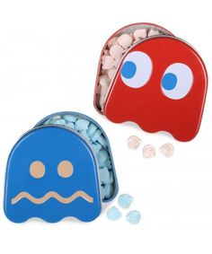 Candy Tin Pac-Man Ghost Sours