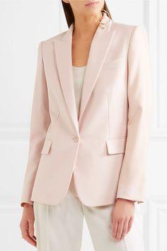 Stella McCartney - Ingrid Wool-piqué Blazer - Pastel pink