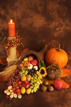 Fall Decor| Cornucopia | thanksgiving