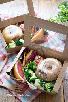ベーグルサンドのお弁当。 | あ~るママオフィシャルブログ「毎日がお弁当日和♪」Powered by Ameba