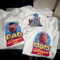 Matching Toy Story designs for the whole family!
