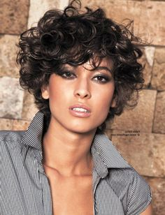 very-short-curly-hair-women.jpg (842×1100)