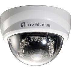CP Technologies LevelOne H.264 2-Mega Pixel FCS-4101 10/100 Mbps P/T PoE Mini Dome Ne