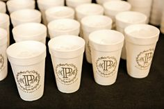 Cups Wedding Favors Monogrammed Cups Vintage Wedding Favors Rustic Wedding Cups Custom Wedding Monogram Custom Wedding Cups 1465 by SipHipHooray