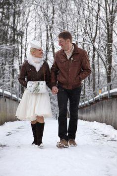 Hochzeit in Dornbirn, An der Ach, Feb 2009