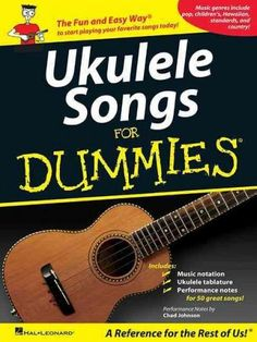 (Ukulele). Want to learn to play a wide variety of songs on the ukulele? Then this is the right book for you! An easy-to-use resource for the casual hobbyist or working musician, this collection featu