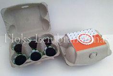 Caixa de Ovos com Brigadeiro