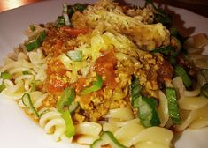 Penne, Gnocchi, Fried Rice, Fries, Chicken, Meat, Ethnic Recipes, Lasagna, Nasi Goreng