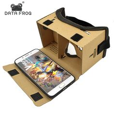 Cardboard VR iPhone 5 6 Android à 6 pouces – Fashion Fantasy Trend Virtual Reality Glasses, Virtual Reality Headset, Augmented Reality, Vr Headset, Smartphone, Pc Gamer, Vr Box Movies, Mobiles, Google Glass
